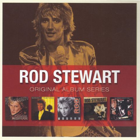 Rod Stewart - Original Album Series (1980-1991) [5CD Box Set] 2010 FLAC скачать торрентом