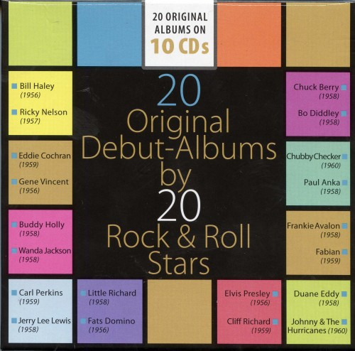 20 Original Debut Albums by 20 Rock & Roll Stars [10CD]