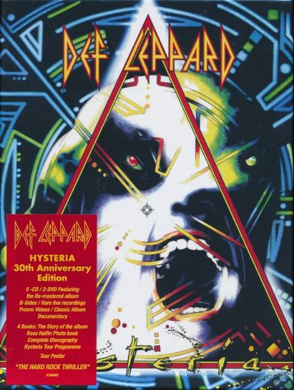 Def Leppard - Hysteria [30th Anniversary Super Deluxe 5CD Box Set]