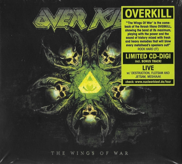 Overkill - The Wings Of War [Limited Digipak] 2019 скачать альбом в формате FLAC (Lossless)
