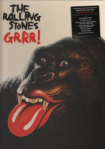 The Rolling Stones - GRRR! [Super Deluxe Edition 5CD Box] 2012 скачать альбом в формате FLAC (Lossless)