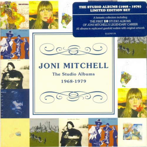Joni Mitchell - The Studio Albums 1968 - 1979 [10CD Box Set]