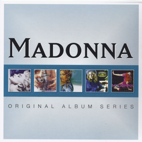 Madonna - Original Album Series [5CD Box Set]
