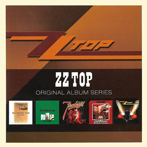 ZZ Top - Original Album Series [5CD Box Set] 2011 скачать сборник в формате FLAC (Lossless)