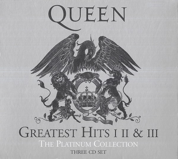 Queen - GREATEST HITS I, II & III [THE PLATINUM COLLECTION, Remastered, 3CD]