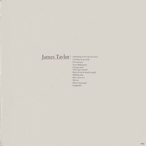 James Taylor – Greatest Hits LP [Vinyl-Rip]