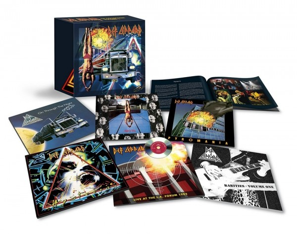 Def Leppard - The CD Collection: Volume 1 [7CD Box Set Remastered]