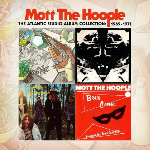 Mott The Hoople - The Atlantic Studio Album Collection 1969-1971 [Hi-Res]