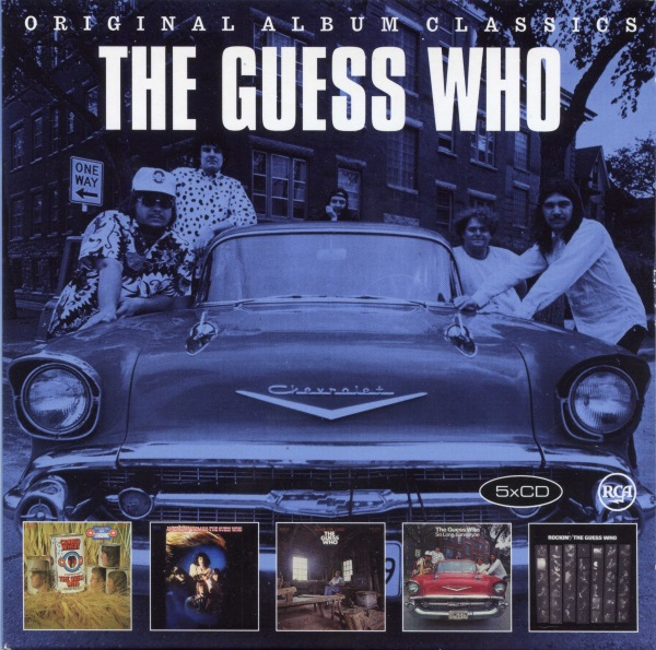 The Guess Who - Original Album Classics (5CD) 2016 скачать сборник в формате FLAC (Lossless)