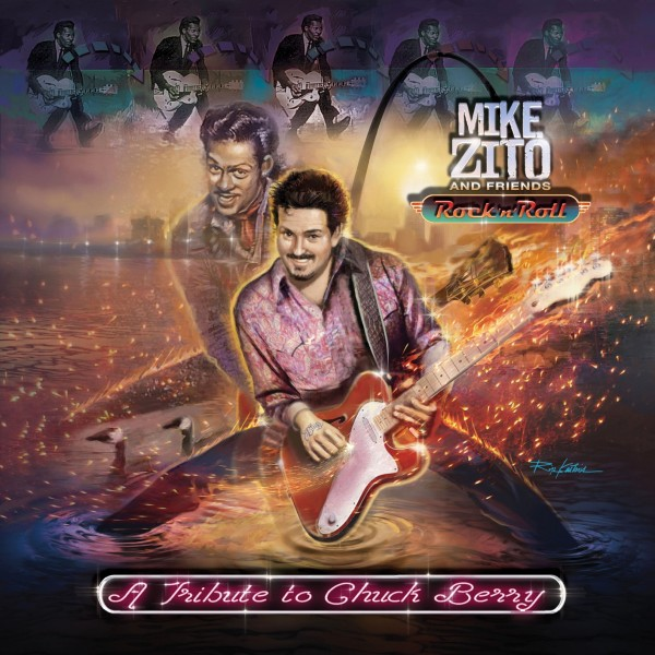 Mike Zito and Friends - A Tribute to Chuck Berry [24bit Hi-Res] 2019 скачать альбом в формате FLAC (Lossless)