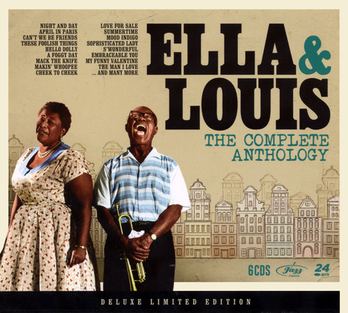 Ella Fitzgerald & Louis Armstrong - The Complete Anthology [Box Set 6CDs] 2012 скачать альбом в формате FLAC (Lossless)