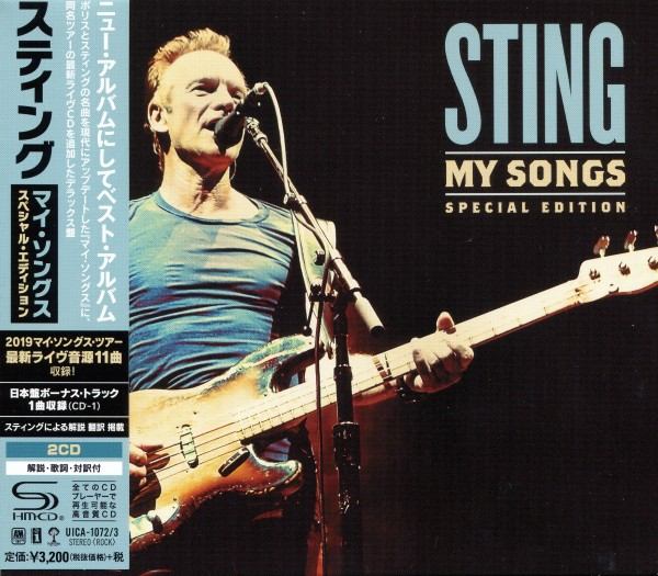 Sting ‎- My Songs [2CD, Special Edition] 2019 скачать альбом в формате FLAC (Lossless)