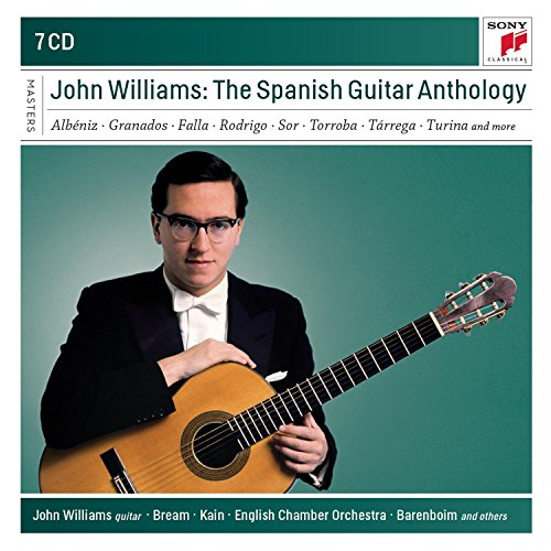 John Williams - The Spanish Guitar Anthology [7CD] 2013 скачать альбом в формате FLAC (Lossless)