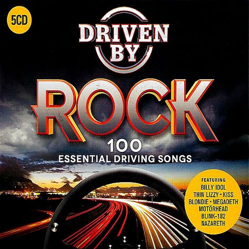 Driven by Rock: 100 Essential Driving Songs [5CD]