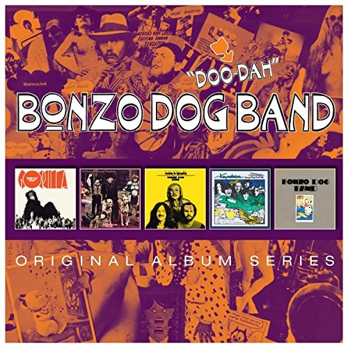 Bonzo Dog Doo Dah Band - Original Album Series [5CD] 2014 скачать альбом в формате FLAC (Lossless)