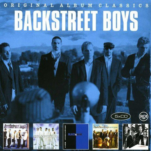 Backstreet Boys - Original Album Classics [5CD] 2013 скачать альбом в формате FLAC (Lossless)