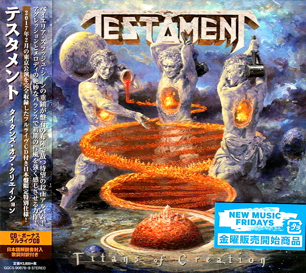 Testament - Titans of Creation [2CD Japanese Edition] 2020 скачать альбом в формате FLAC (Lossless)