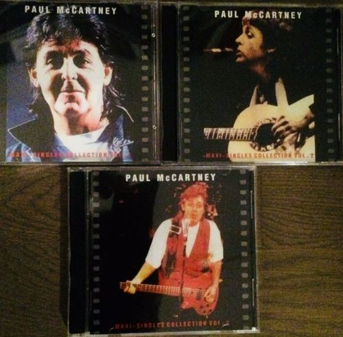 Paul McCartney - Maxi-Singles Collection Vol. 1,2,3