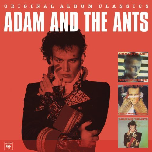 Adam & The Ants - Original Album Classics [3CD] 2011 скачать альбом в формате FLAC (Lossless)