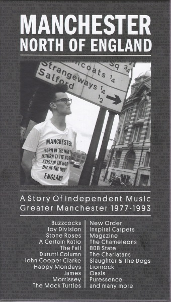 Manchester North Of England. A Story Of Independent Music Greater Manchester 1977-1993 [7 CD] 2017 скачать сборник в формате FLAC (Lossless)