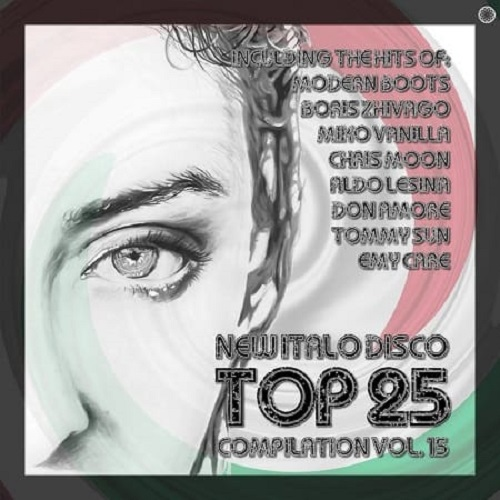 New Italo Disco Top 25 Compilation, Vol. 15 2021 скачать сборник в формате FLAC (Lossless)