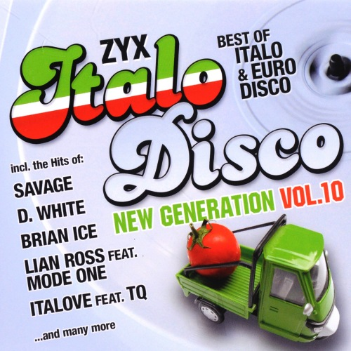 ZYX Italo Disco New Generation: Vol.10 [2CD] 2017 скачать сборник в формате FLAC (Lossless)